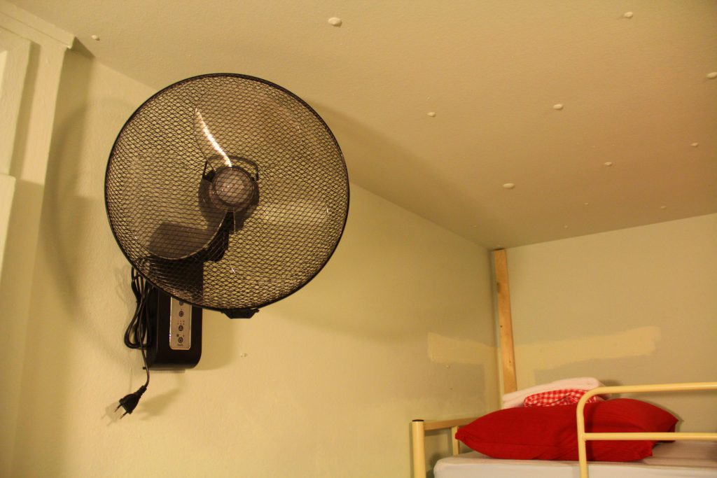 fan in every room