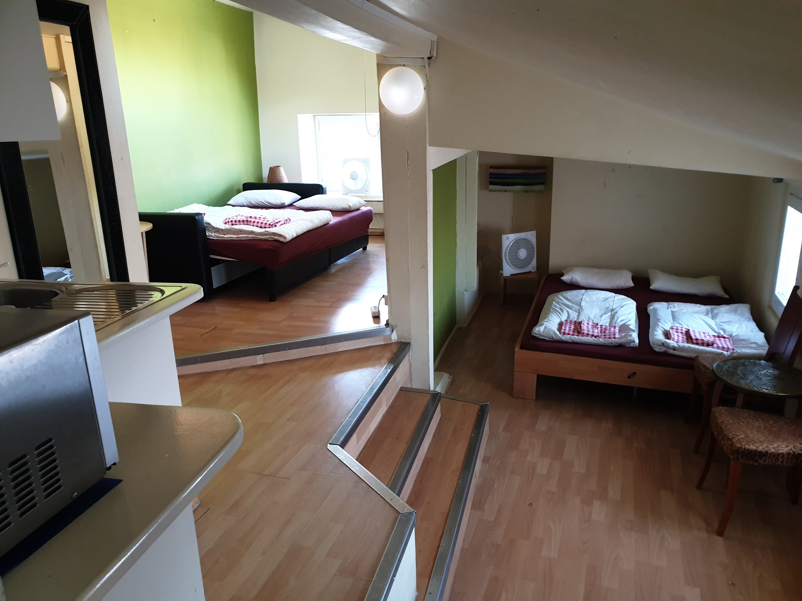 Apartment with kitchenette and shower, 4 persons